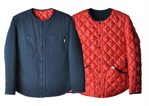 SD STANFDARD CALIFORNIA Reversible Quilted Flannel Shirt