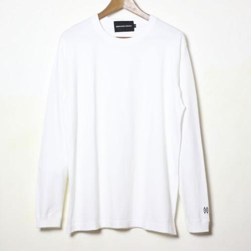 【HIROYUKI OBARA 】USCTシャツ 長袖 ホワイト