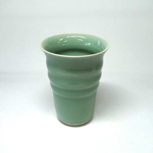 翡翠ビアカップ(小)