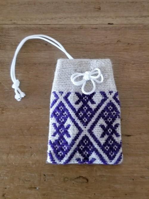 【てこな(蝶)】御守り袋型・匂い袋