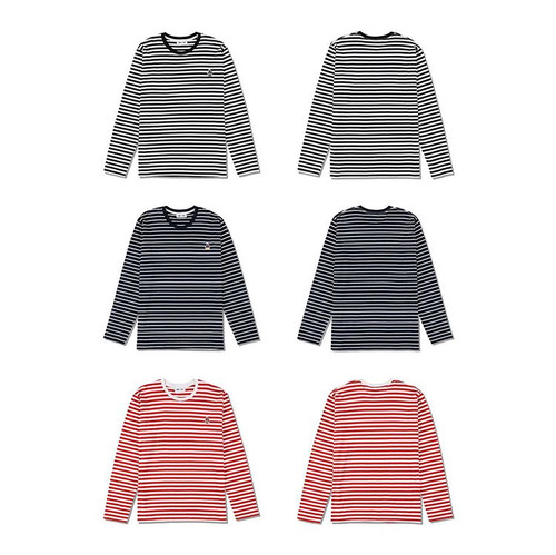 WDS (sail-boat) BORDER L/S T-SHIRT