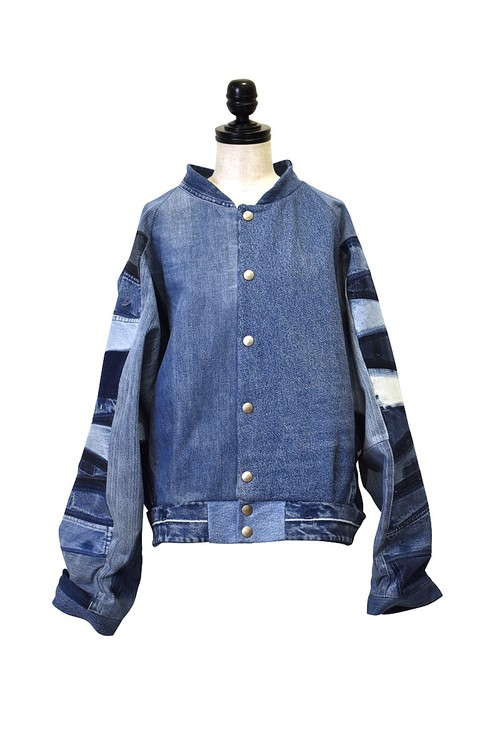 FADE OUT Label / ARTIC Bomber Jacket / Medium Blue