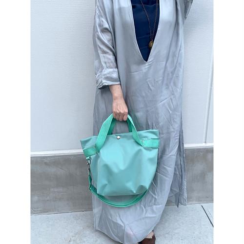 【sandglass】duffle bag(S)mint / 【サンドグラス】ダッフルバッグ(S)本体 ミント
