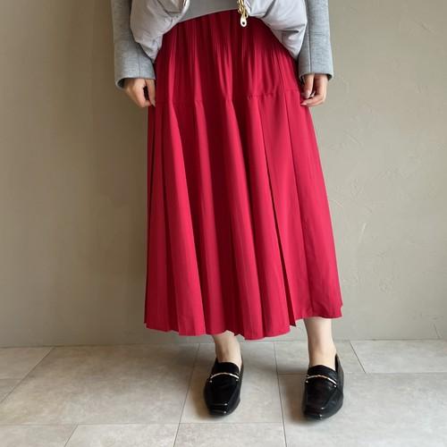 【 ROSIEE 】- R352734 - プリーツ切り替えスカート