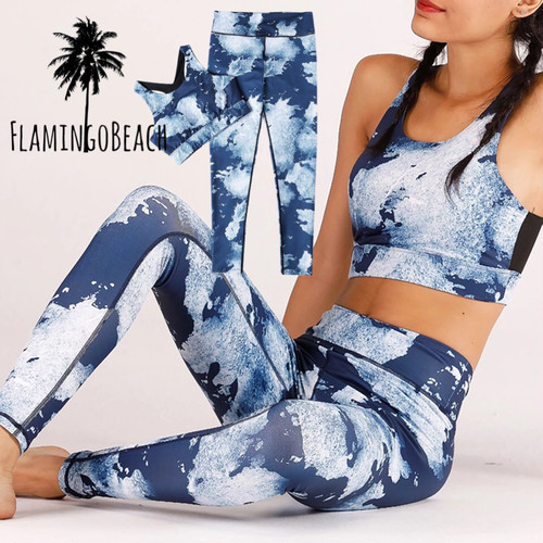 【FlamingoBeach】blue sports wea スポーツウェア