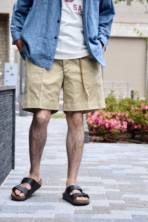 【MILITARY】 60's FRENCH CHINO SHORTS