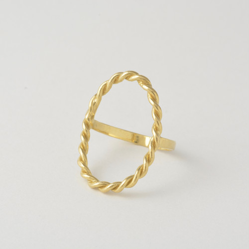 hHOME ring oval