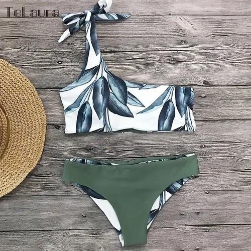 【即納】送料無料!import ワンショル 水着 ビキニ ~ Bikini ~ 1350