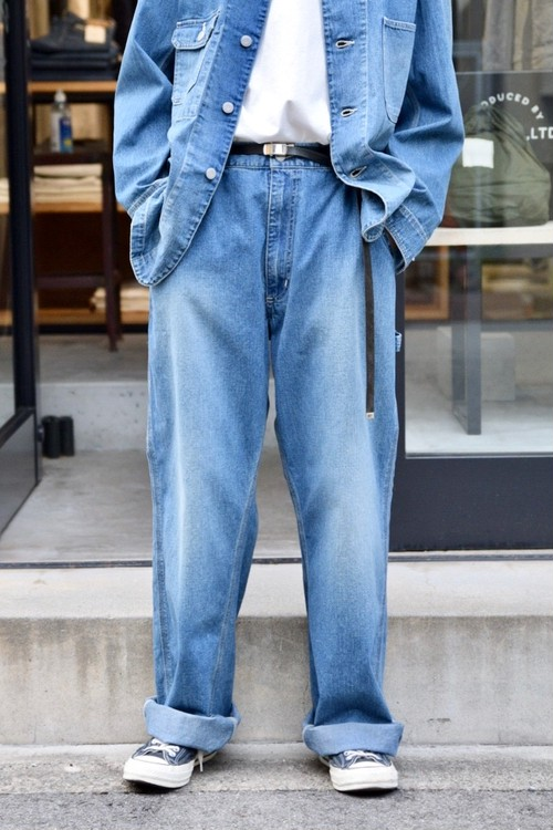 【ORDINARY FITS】PAINTER PANTS USED/OF-P065