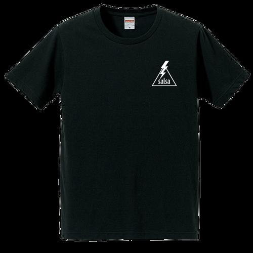 """T-shirt """"Aufheben Rock N Roll"""" 黒×白"""