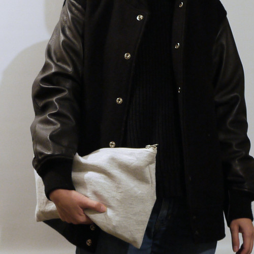 "Old sweat clutch ""plain"""