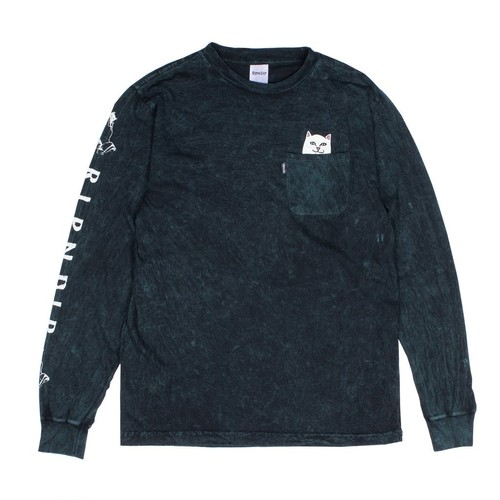 RIPNDIP - Lord Nermal Pocket L/S (Forest Wash)