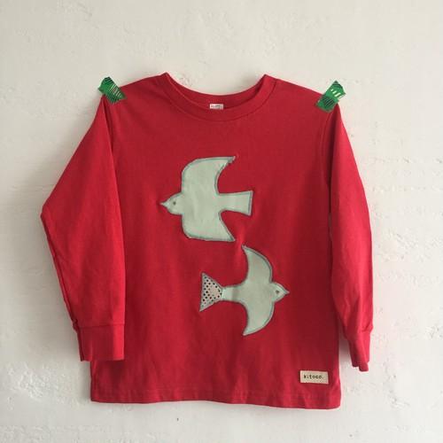鳥 長Tシャツ 110-120サイズ