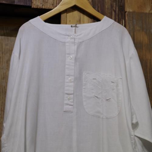 Henry neck Shirt / ヘンリーネック プルオーバー シャツ