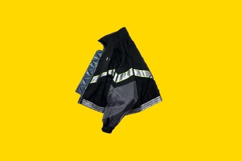 Back Transparent JKT BLACK