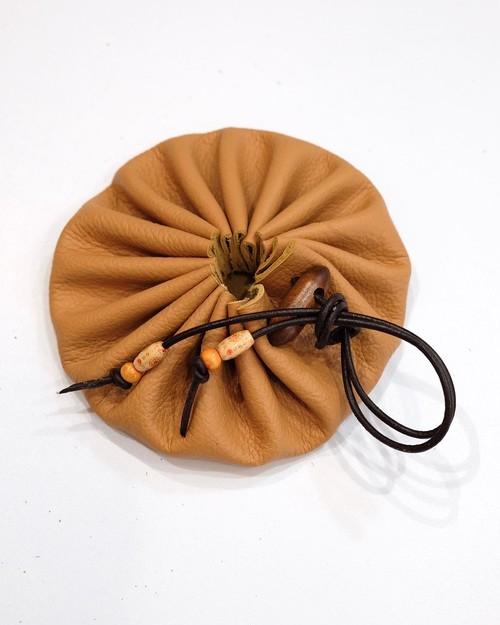 leather craft tinder pouch(beige)