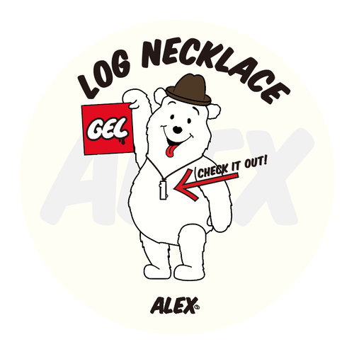 """LOG NECKLACE""(ALEX ver)"