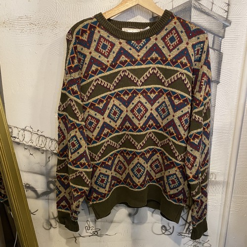 cotton design knit