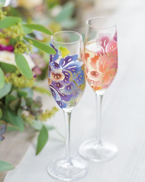 シャンパングラス ペア Flute glass