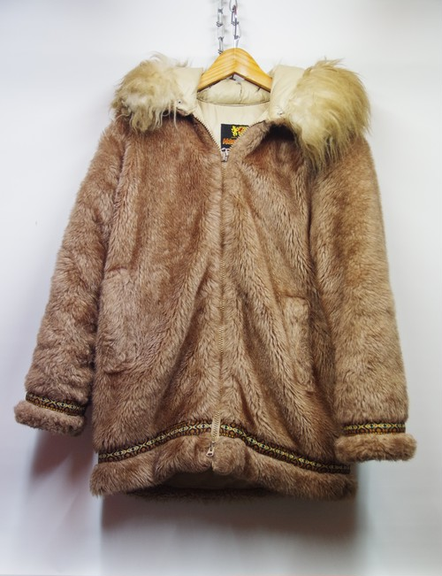 STEARNS HANSA-BRANTA VTG ESKIMO GOOSE DAWN JACKET MADE IN USA L エスキモーパーカー / レディースL