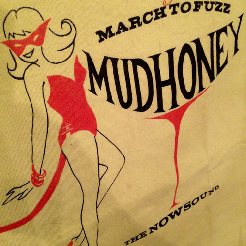"Vintage 90s MUDHONEY "" MARCH TO FUZZ "" Tee"