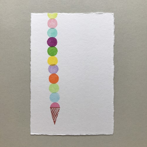 postcard (icecream)