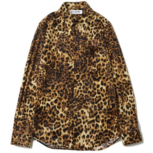 LEOPARD SHIRT (YELLOW) / RUDE GALLERY