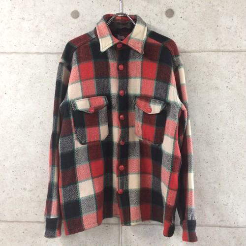 50s WOOLRICH ウールシャツ