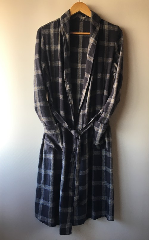 OLD Plaid Shirt Gown