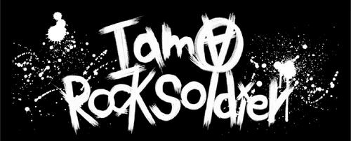 I am a ROCK SOLDIER Towel