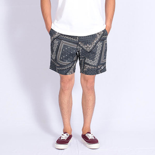Short pants every day BANDANA Gray