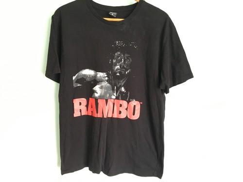 映画 rambo ランボー Tシャツ / 80s 90s OLD シネマ スタローン ロッキー rocky