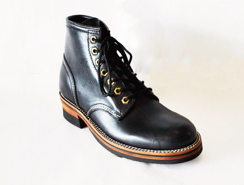 【High Line】MIDDLE BOOTS TENPESTI BLACK GR-KE315