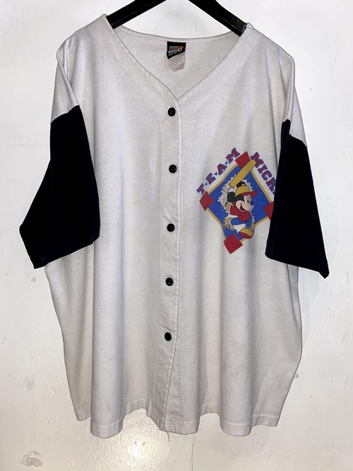 MICKEY ベースボールシャツ