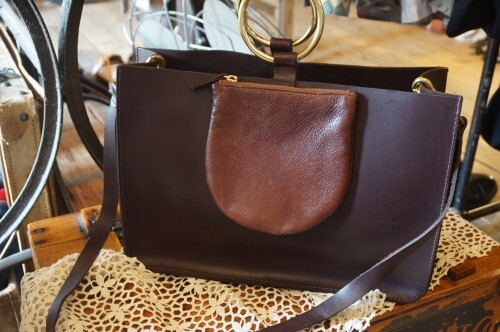 OTAAT MYERS COLLECTIVE 2way leather Bag