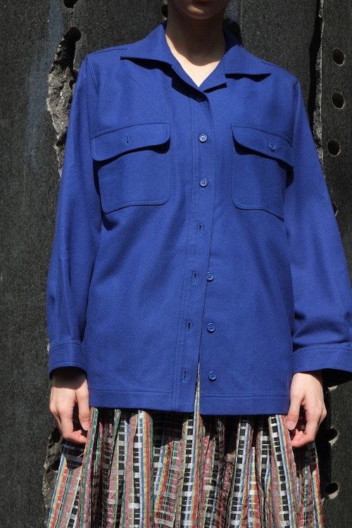 almost blue shirt jacket.