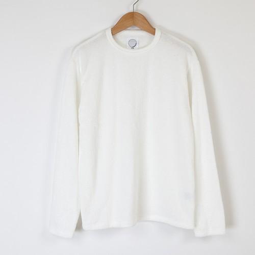 LONG SLEEVE T-SHIRTS ホワイト