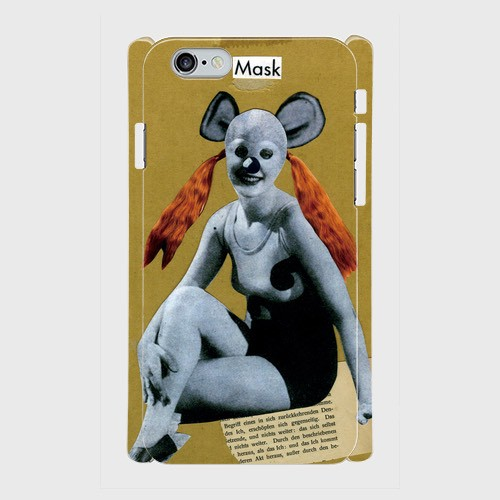"Q-TA iPhone Cover ""Mickey Mask"""