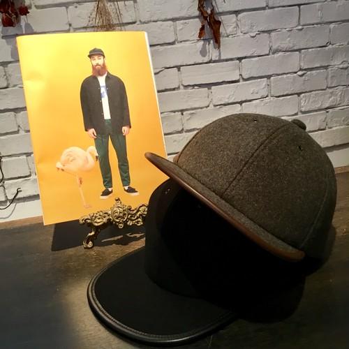 CA4LA【カシラ】 WOOL100S CAP