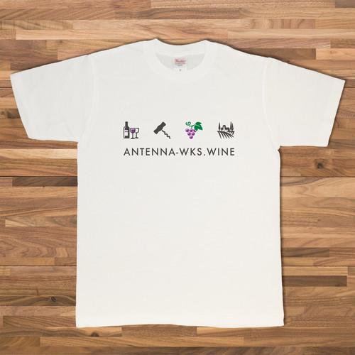 ワインアイコン/ホワイト【CWE-006WH】