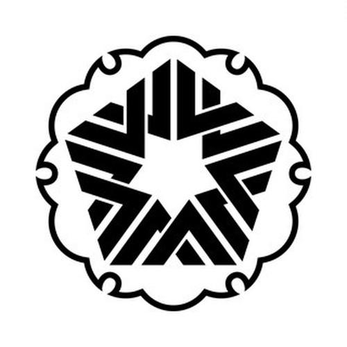 雪輪に五つ入り山形 aiデータ