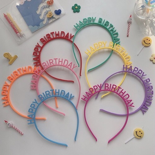 birthday head accessory 8c's