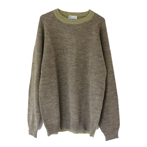 WL 7G Hi Neck Knit(WHITE LINE)