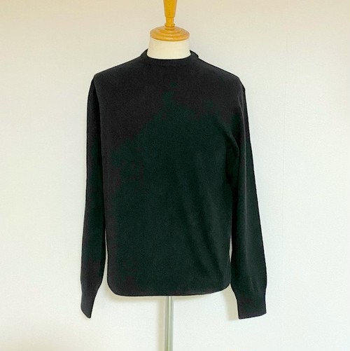 Cashmere Crewneck Knit Black