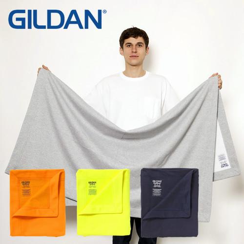 (ギルダン)GILDAN DryBlend 9.0 oz Fleece Stadium Blanket