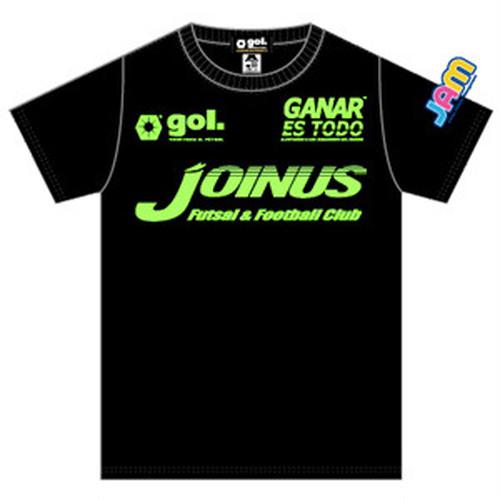 ジョイナスオリジナル・プラクティスシャツ【gol.japan】カラー:BLK x LIM