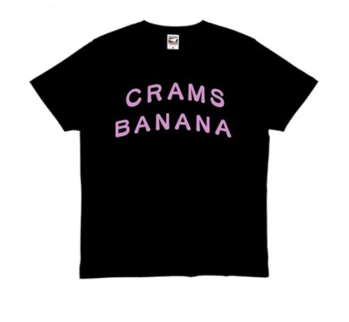 CRAMS BANANAロゴタイプTシャツ