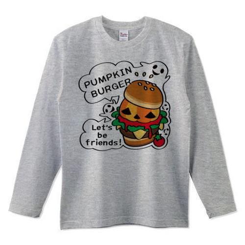 キャラT14 Gz かぼちゃバーガー *長袖Tシャツ