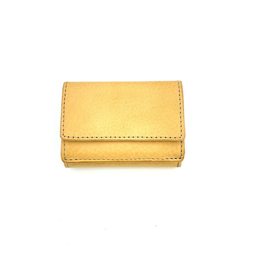 YONZY Mini Wallet type3 ITALY TAN
