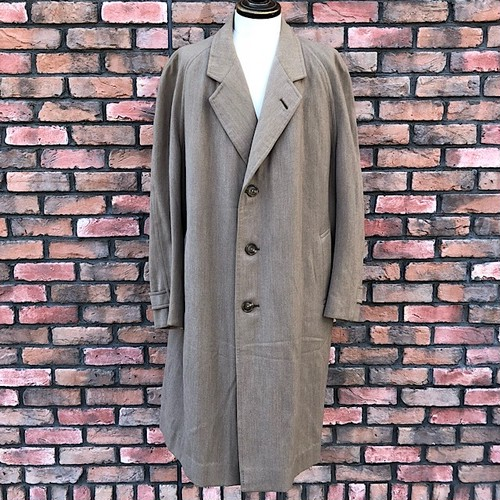 1940s Vintage Burberrys Country Style Over Coat Made In England